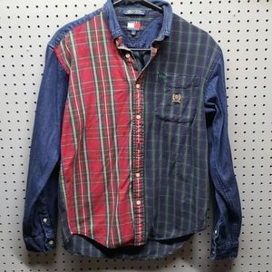 Boys vintage denim shirt sz large